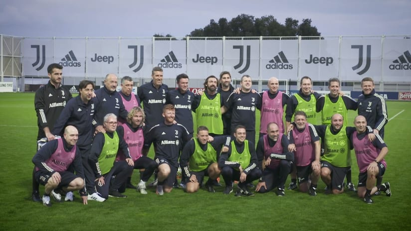 Tuesday's Juventus staff match