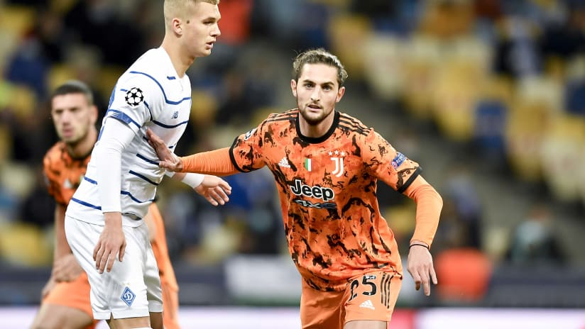 Dynamo Kyiv - Juventus | Rabiot: «Balanced and intense team»