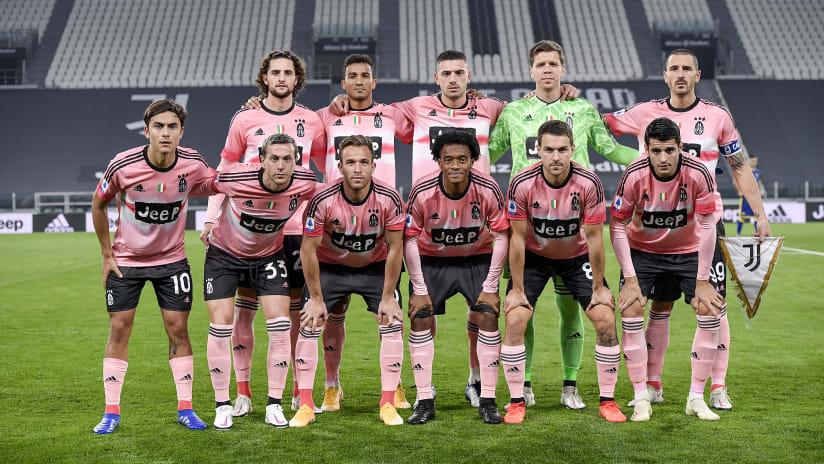 Juventus Hellas Verona Serie A Tim 2020 2021 Juventus Men S First Team