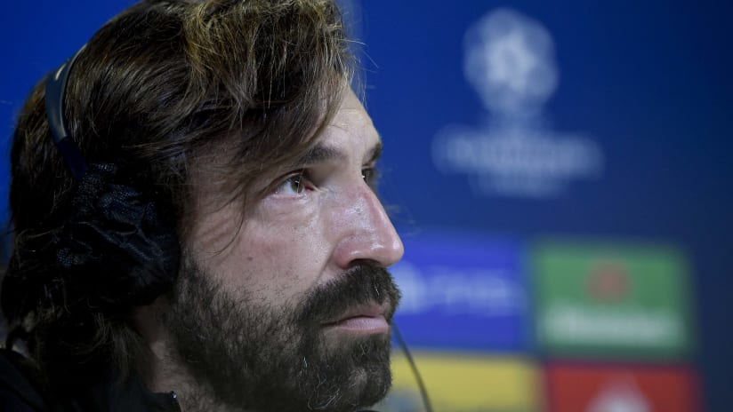 Juventus - Barcelona | Pirlo: «We have great motivation»