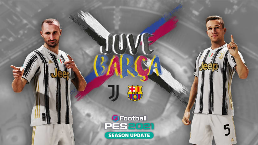 Esports | Juventus - Barcelona | eFootball PES 2021 Friendly Match