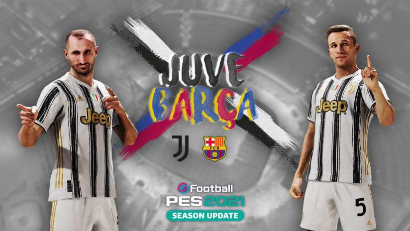 Esports | Juventus - Barcellona | Amichevole eFootball PES 2021