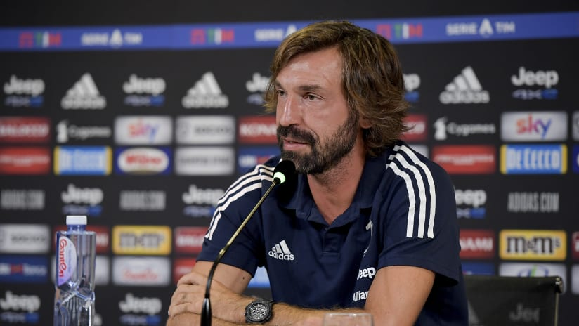 Pirlo's comments on the eve of Spezia - Juventus
