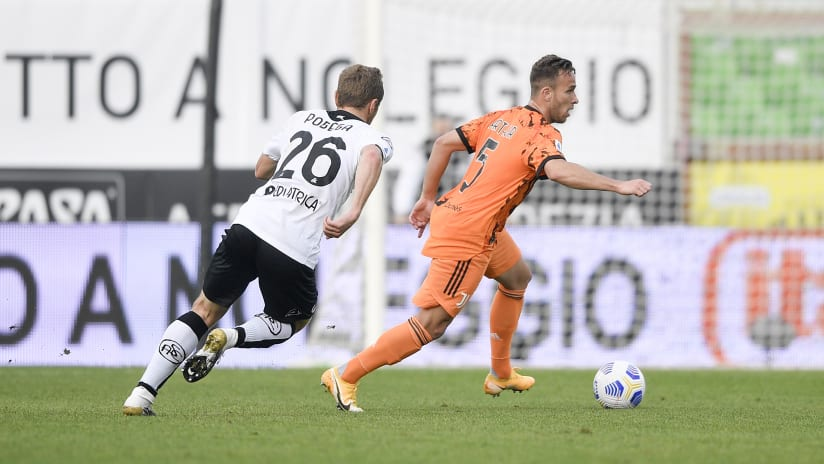 Spezia - Juventus | Arthur: «Three point very important»