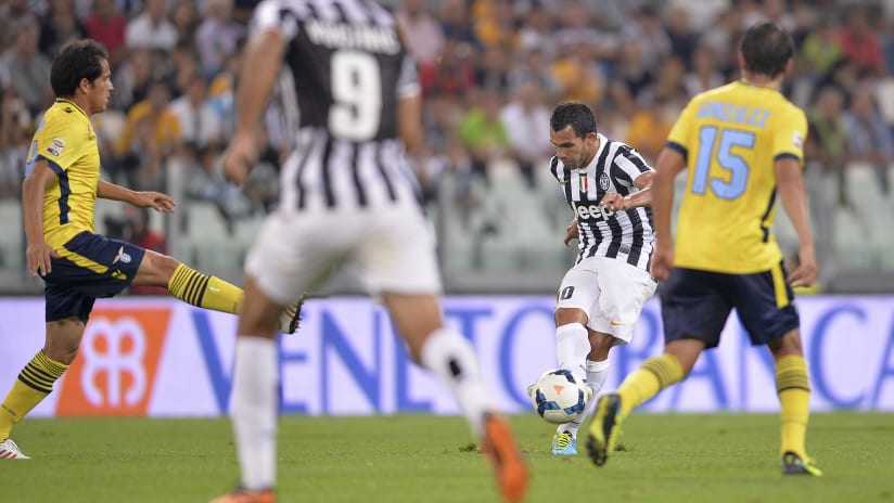 Turning Time | Juventus-Lazio, Tevez' first piece of magic at the Stadium