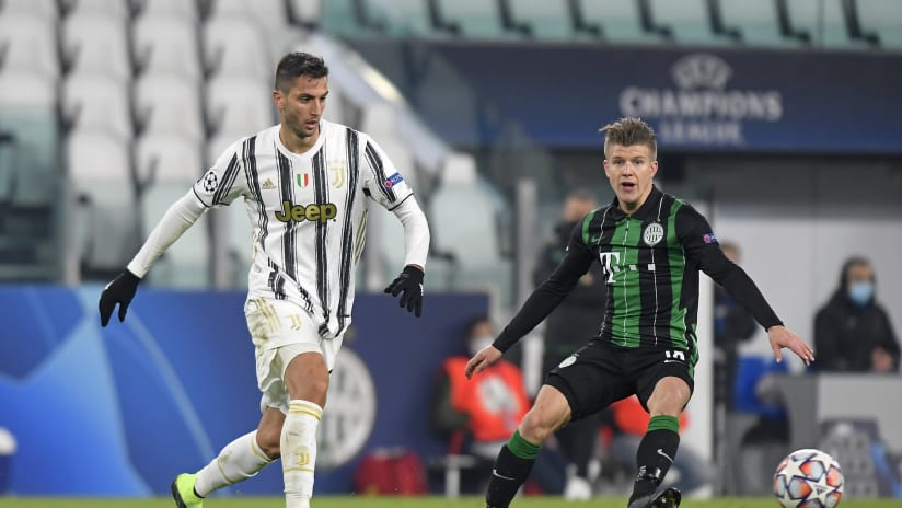 Juventus - Ferencvaros | Bentancur: «The important thing was to secure three points»