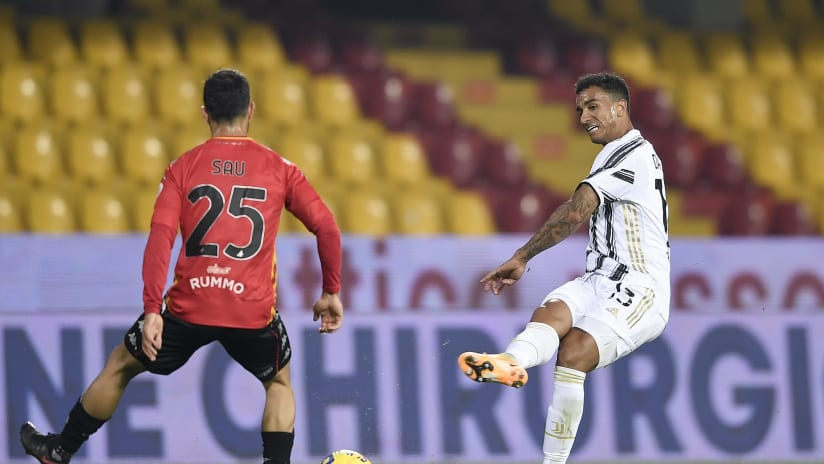 Benevento - Juventus | Danilo: «Dobbiamo migliorare tutti»