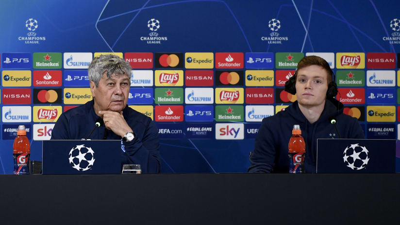 Press conference | Lucescu and Tsygankov preview Juventus - Dynamo Kyiv
