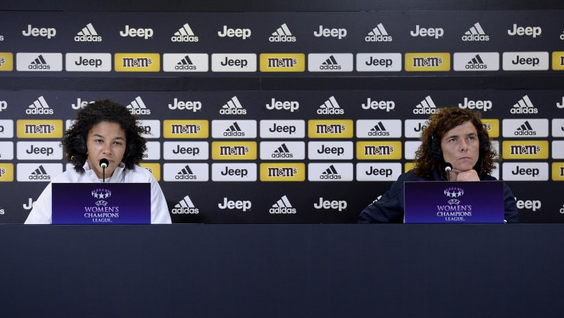 Press Conference | The eve of Juventus Women - Lyon