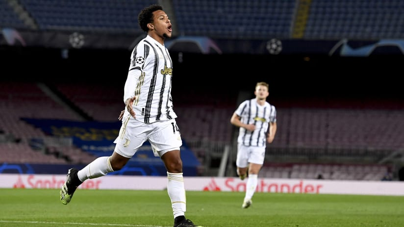 Barcelona - Juventus | McKennie: «A special goal for me»