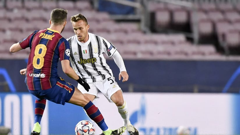 Barcelona - Juventus | Arthur: «This was the result we wanted»
