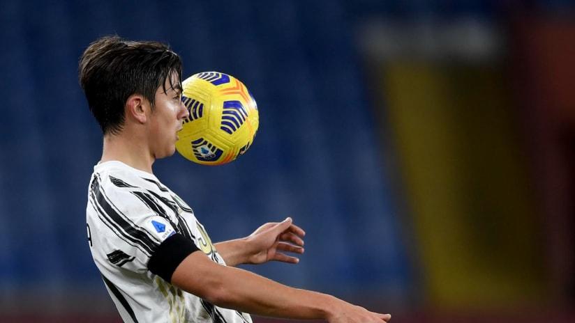 Genoa - Juventus | Dybala: «Avevo bisogno di questo gol»