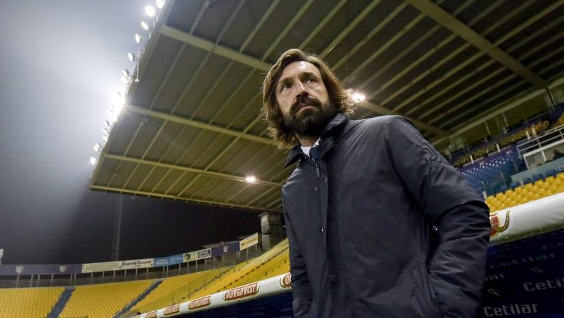 Coach Pirlo presents Juventus - Fiorentina