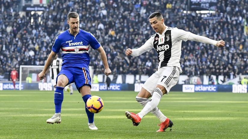 Accadde oggi: 2018 | Doppietta di Ronaldo contro la Samp!