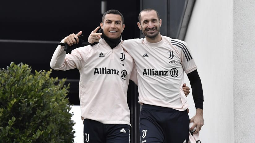 New year's day 2021 Juventus Training