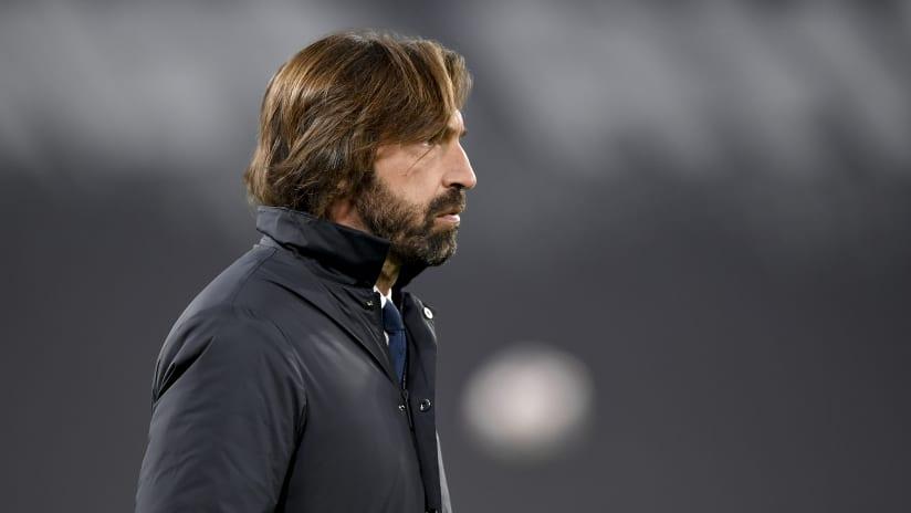 Coach Pirlo presents Juventus - Udinese