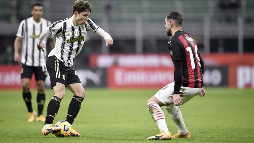 Milan - Juventus | Chiesa: «We bring home a great result»