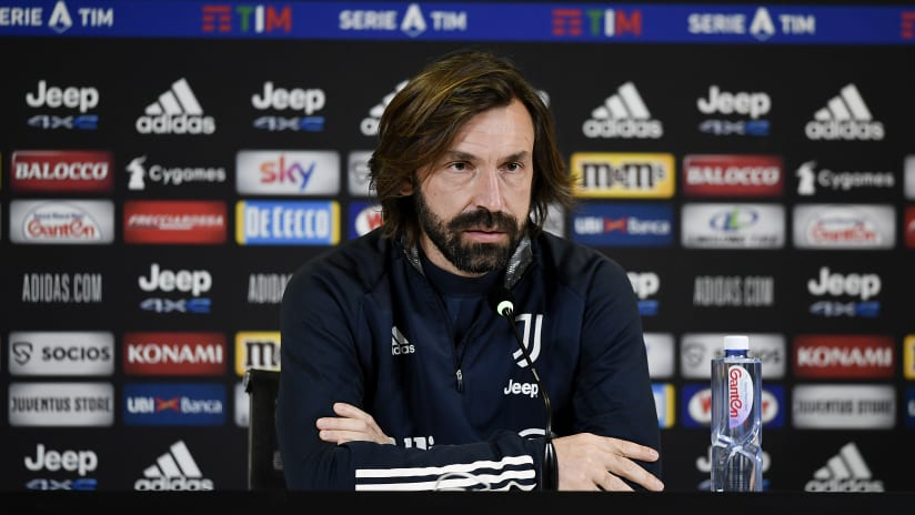 Pirlo's comments on the eve of Juventus-Sassuolo