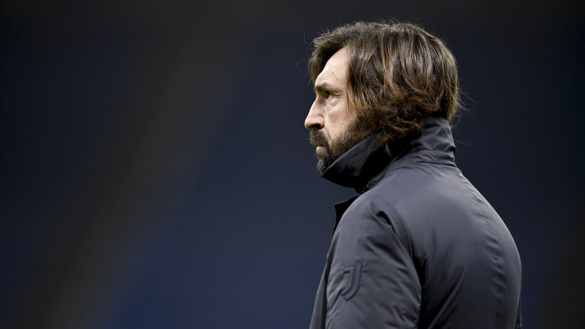 Coach Pirlo presents Juventus - Genoa