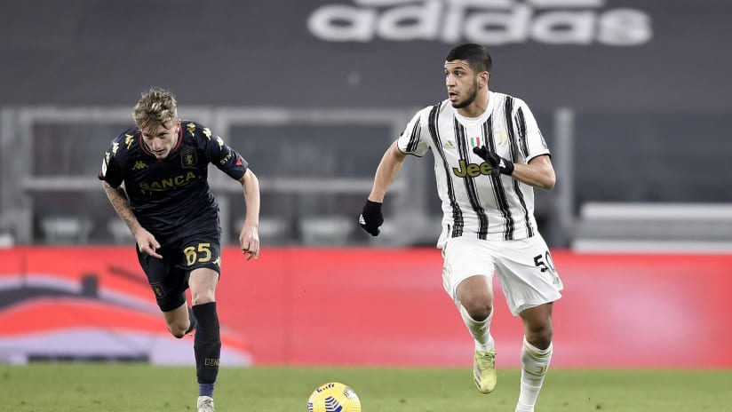 Juventus - Genoa | Rafia: «Delighted for the goal»