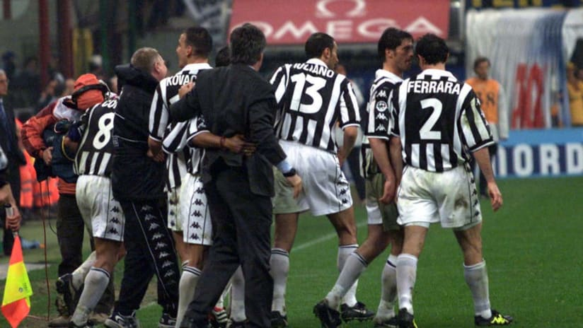Inter - Juventus   La doppietta di Kovacevic del 2000