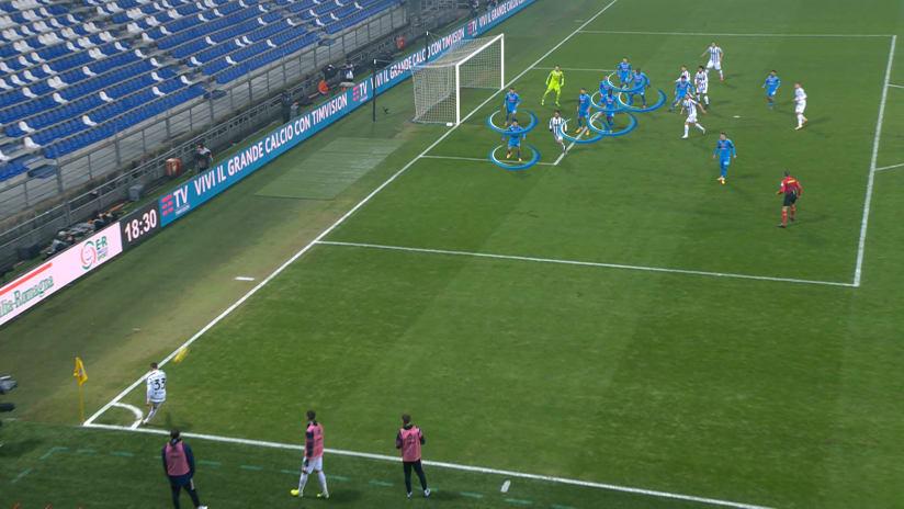 Il gol di Ronaldo