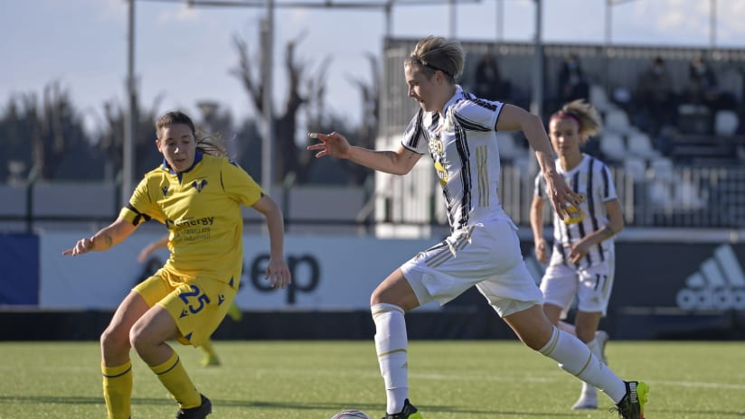 "Women | Juventus - Hellas Verona | Hurtig: ""I'm very happy"""