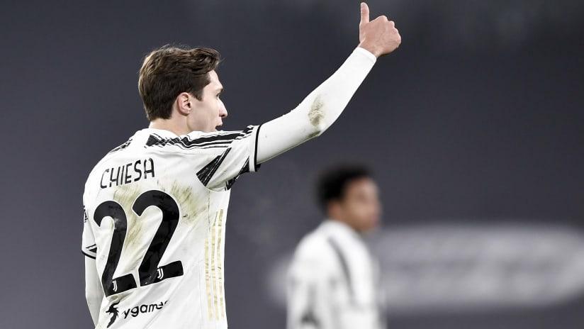 Juventus - SPAL | Chiesa: «Vogliamo arrivare in fondo a qualsiasi competizione»