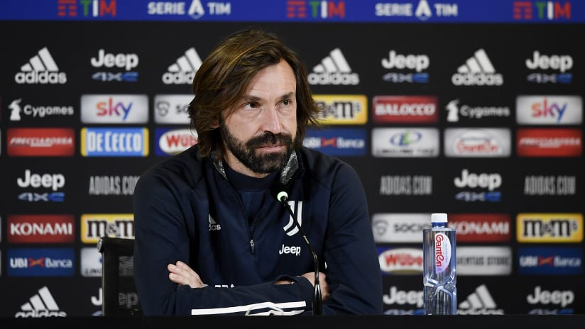 Pirlo's comments on the eve of Sampdoria-Juventus