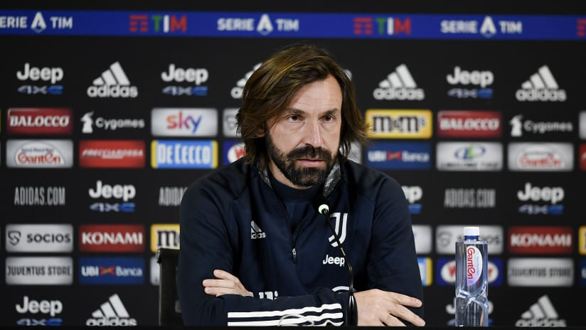 Pirlo's comments on the eve of Juventus-Roma