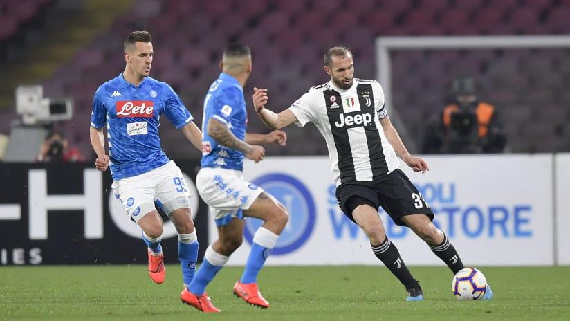 Protagonisti | Napoli-Juventus: le tante battaglie di Chiellini