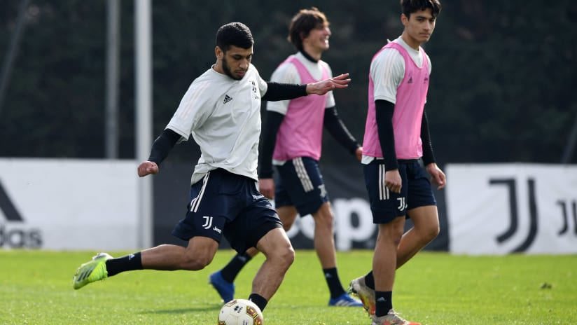 U23 | Training towards Albinoleffe - Juventus