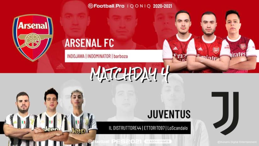 eSports | Giornata 4 | Arsenal - Juventus