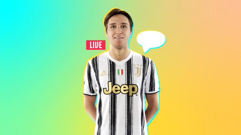 Ask Federico Chiesa | Junior Reporter