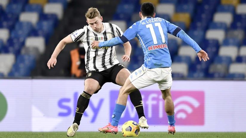 Pitchside view | Matchweek 22 | Napoli - Juventus