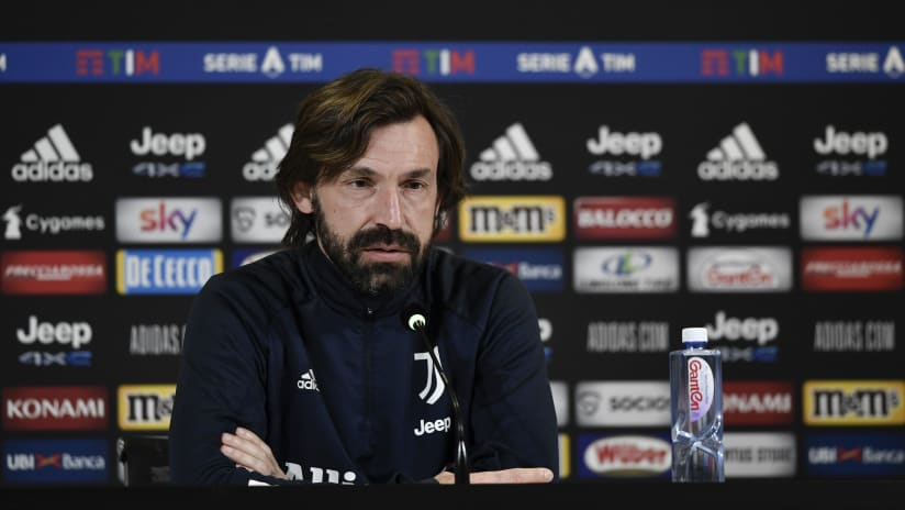 Pirlo's comments on the eve of Juventus-Crotone