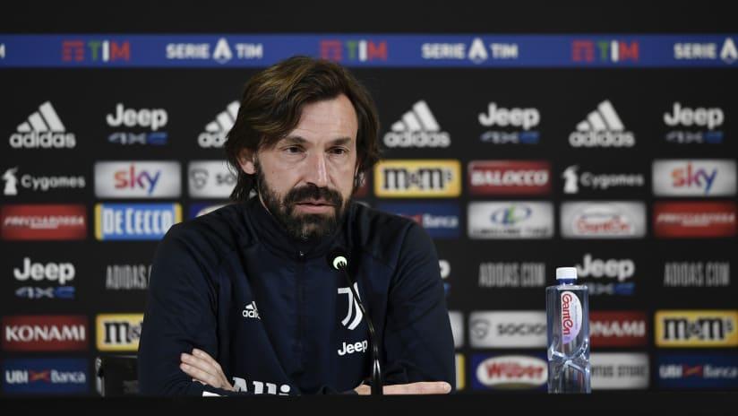 Le parole di Pirlo alla vigilia di Juventus-Crotone