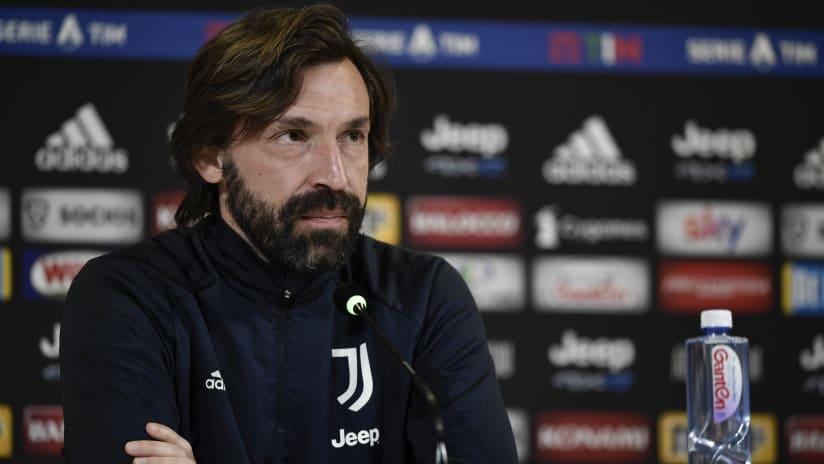 Le parole di Pirlo alla vigilia di Hellas Verona-Juventus