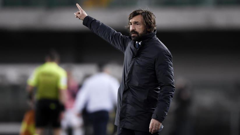 Verona - Juventus | Coach Pirlo's analysis