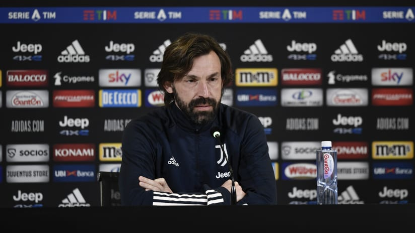 Pirlo's comments on the eve of Cagliari - Juventus