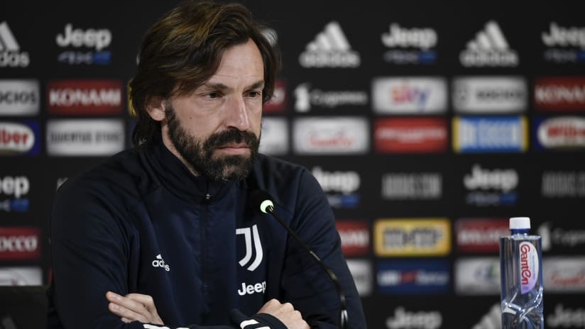 Pirlo's comments on the eve of Juventus - Spezia