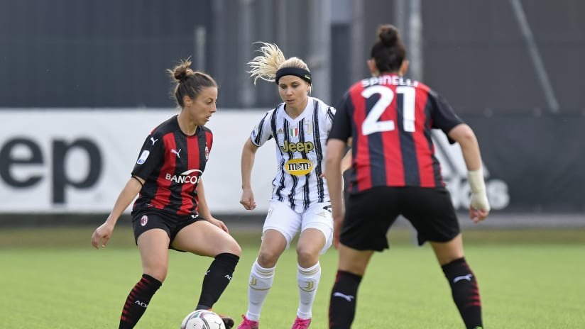 Women   Juventus - Milan   Hyyrynen: «We deserved the victory»