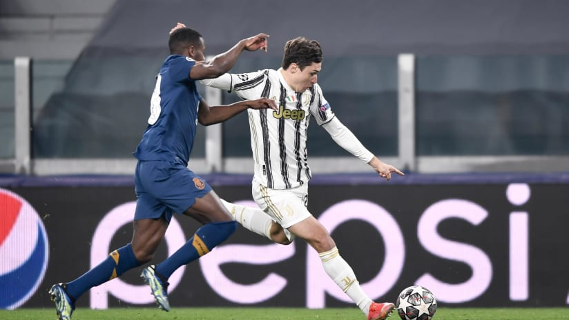Juventus - Porto | Chiesa: «There is great regret»