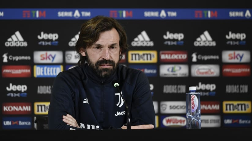 Pirlo's comments on the eve of Juventus - Benevento