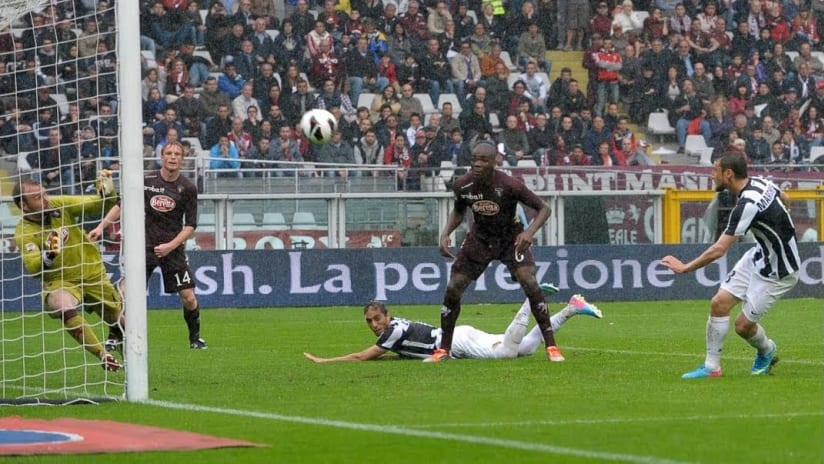 Torino - Juventus | The triumph in the rain of 2013