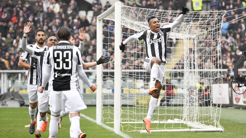 Torino - Juventus | Alex Sandro decides the 2018 Derby