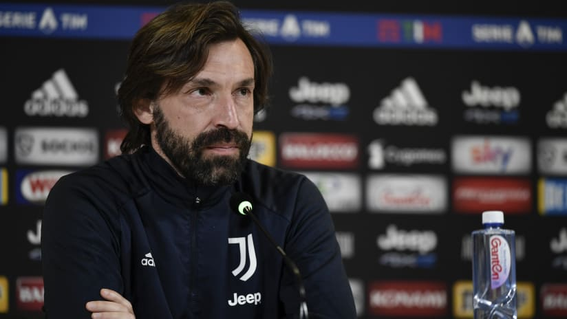Pirlo's comments on the eve of Torino - Juventus