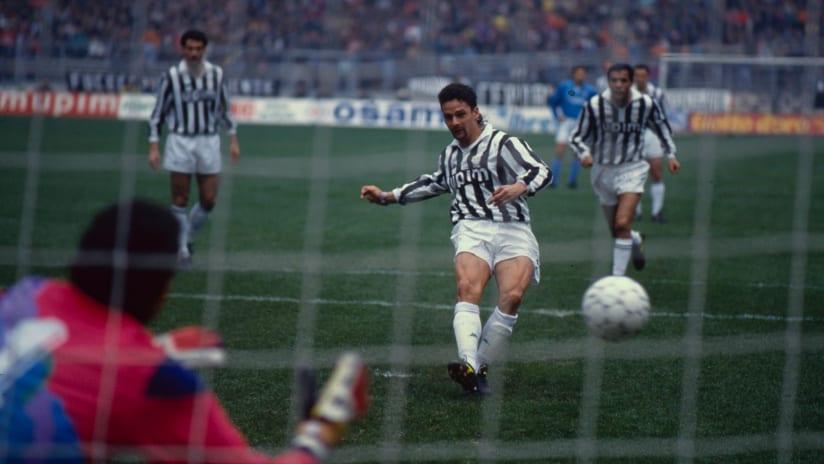 Juventus - Napoli | 1992: Baggio-Marocchi show