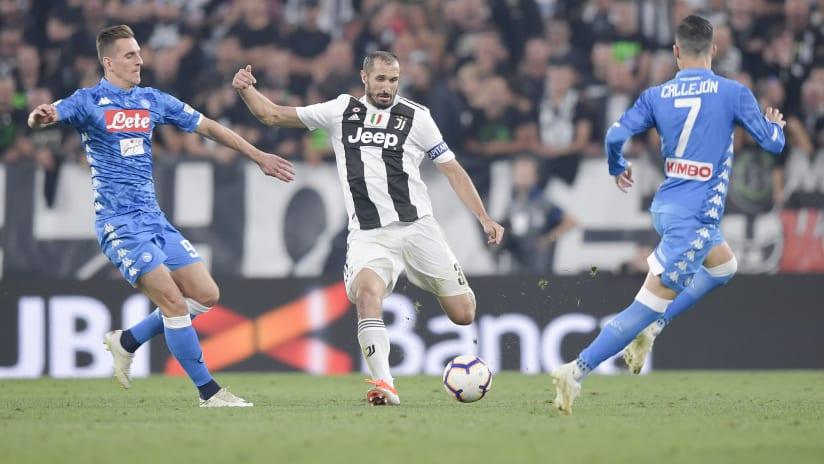 Numbers | Juventus - Napoli