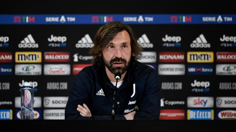 Pirlo's comments on the eve of Juventus - Napoli